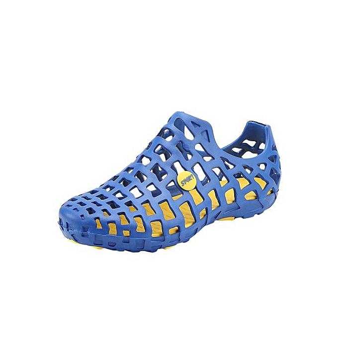 mode Hiamok_Hommes femmes Unisex Classic Décontracté chaussures Couple plage Sandal Flip Flops chaussures à prix pas cher