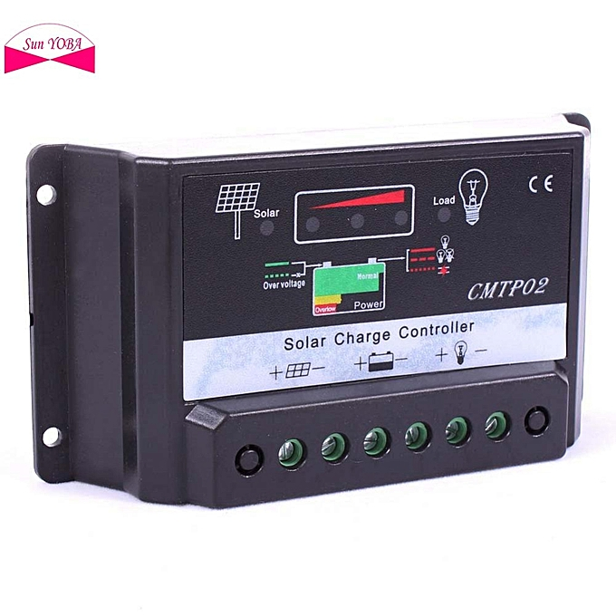 Other MPPT 30A Solar Charge Controller 12V 24V Auto Switch LCD Display  12V Solar Panel Battery Regulator solar 12 volt Hot Worldwide à prix pas cher