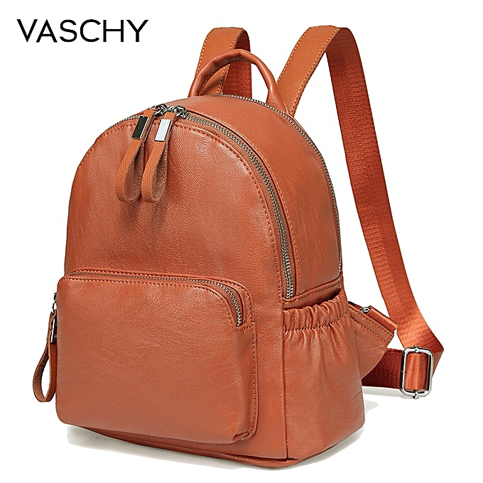 Other   bleu Mini sac à dos bourse,Faux cuir petit sac à dos for femmes cute sac à dos sac pack PU cuir(marron) à prix pas cher