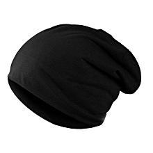 Unisex Women Men Knit Winter Warm Ski Crochet Slouch Hat Cap Beanie(black) - 69b2f64f8df2