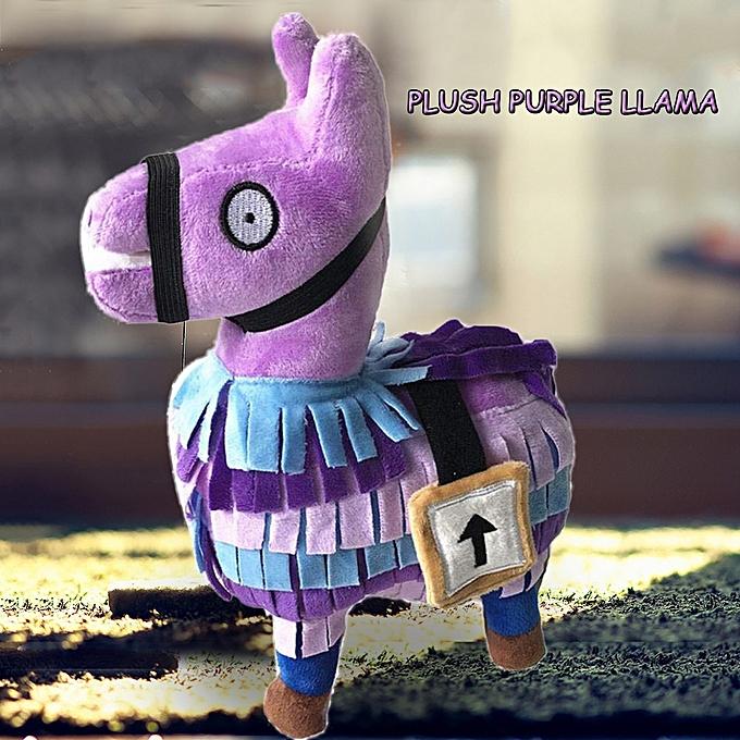Autre 20cm violet Llama Fortnite Game Toy Soft Stuffed Alpaca Animal Doll Gift for Enfants Fortnite Game Fan à prix pas cher