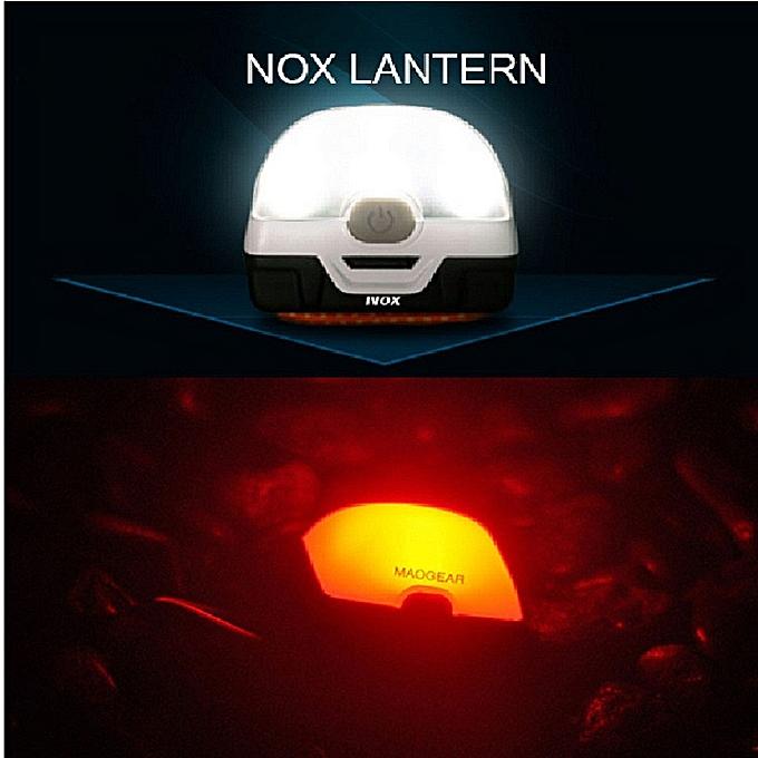 GENERAL quanxinhshang  SUNREX NOX New Fishing Camping Light Lamp LED Hanging Tent Lantern Outdoor à prix pas cher