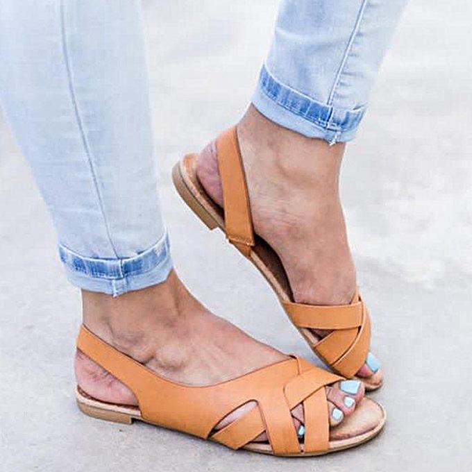 Fashion jiahsyc store Rome femmes Summer Sandals Hemp Rope Flat Student Beach Slippers Open Toe Sandals à prix pas cher