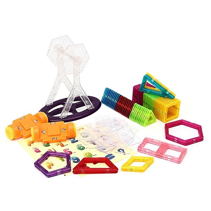 OEM Le vieil arbre 110pcs 3D Magnétique Blocs de Construction Construction Puzzle Enfants Cadeau Jouet Éducatif à prix pas cher
