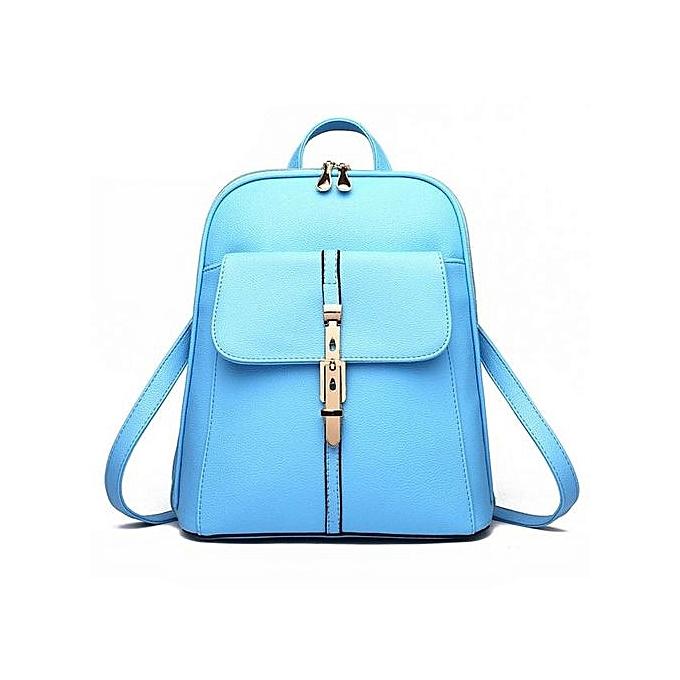 Generic femmes cuir sac à doss Schoolsacs voyage Shoulder sac SB à prix pas cher