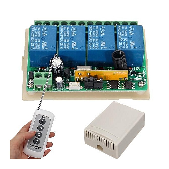 UNIVERSAL DC 24V 10A Remote Control Motor Switch Controller Tool For DC Linear Actuator à prix pas cher