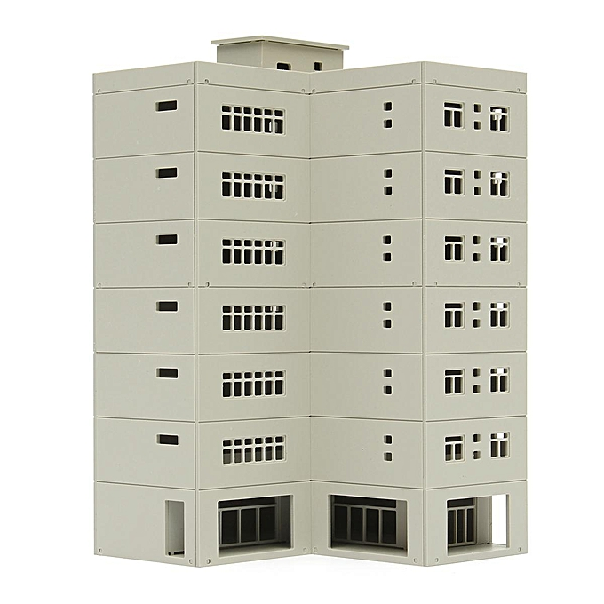 UNIVERSAL 391461068453 Outland Models Railway Modern Large Business Building   Office N Scale 1 160 à prix pas cher