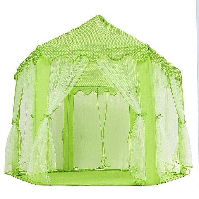 UNIVERSAL portable grand Folding Play Tent Enfants Girl Princess Castle de plein air Play House à prix pas cher