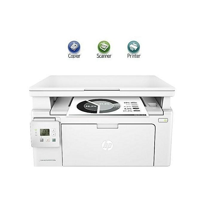 HP Imprihommete multifonction LaserJet Pro M130a - blanc à prix pas cher
