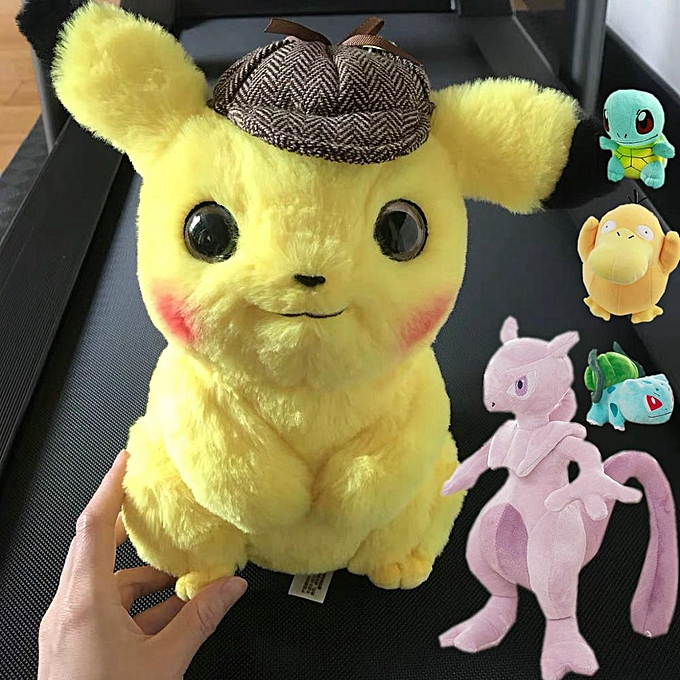 Autre Pikachu Plush Toy Jigglypuff Poliwhirl Charhommeder Gengar toys Movie anime Doll For Kid baby birthday gifts Anime Soft(gengar) à prix pas cher