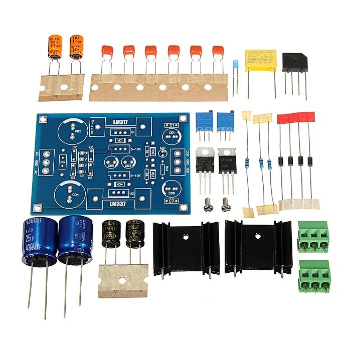 UNIVERSAL LM317 LM337 + -1.25V37V Adjustable Dual Voltage Regulator Power Supply Module à prix pas cher
