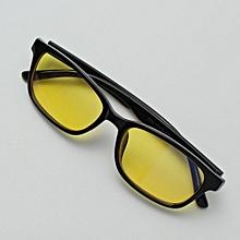 29049b02088826 Computer Glasses TV Radiation UV Protection Eyeglasses Anti-fatigue Game  Goggles Full Black—