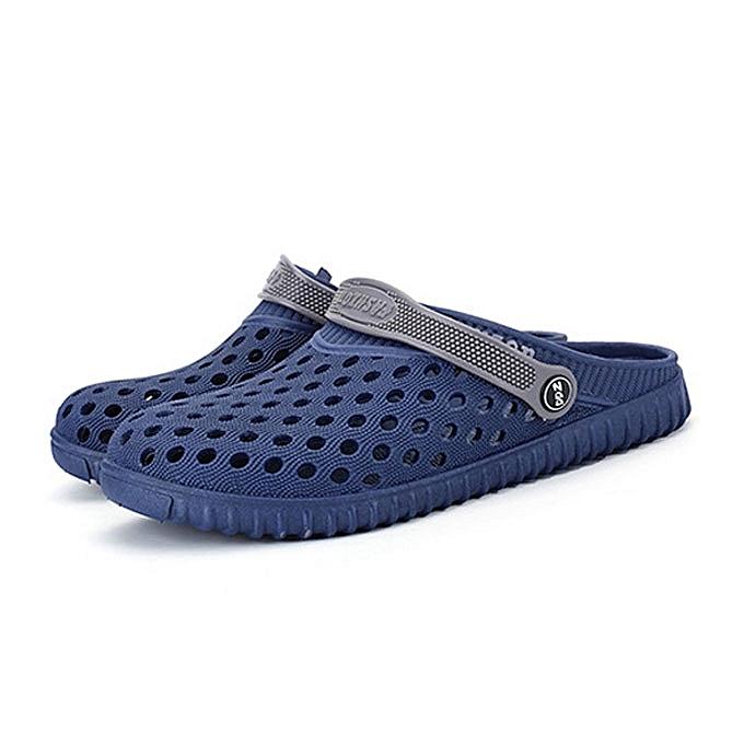 Fashion Men Hollow Out Beach Casual Slipper Sandals In Mesh à prix pas cher