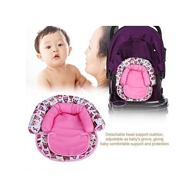 Other   nouveauborn Infant voiture Seat Cushion Comfortable Neck And Head Dual Support PilFaible(rose) à prix pas cher