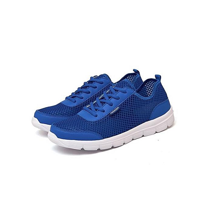 Fashion Plus Size Size Plus  's Sport Casual Shoes-Blue à prix pas cher  | Jumia Maroc 937141