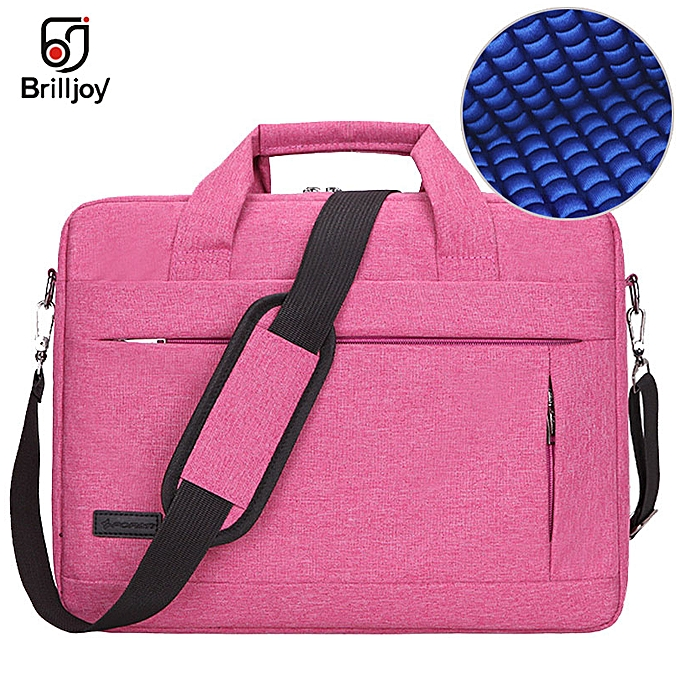Other Brilljoy Hommes femmes voyage Briefcase Bussiness Notebook sac for grand capacité Laptop Handsac for 14 15 Inch Macbook Pro Dell PC(rose 15 Inch) à prix pas cher