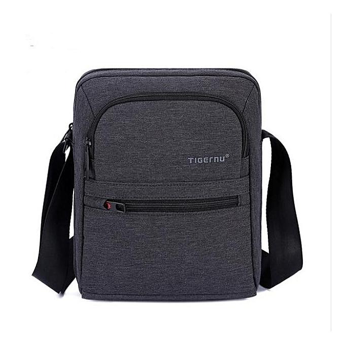 OEM Hot Hommes Shoulder sac imperméable messenger sac high quality noir à prix pas cher