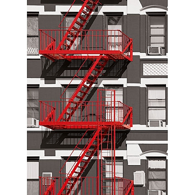 Other POSTER FIRE ESCAPE à prix pas cher