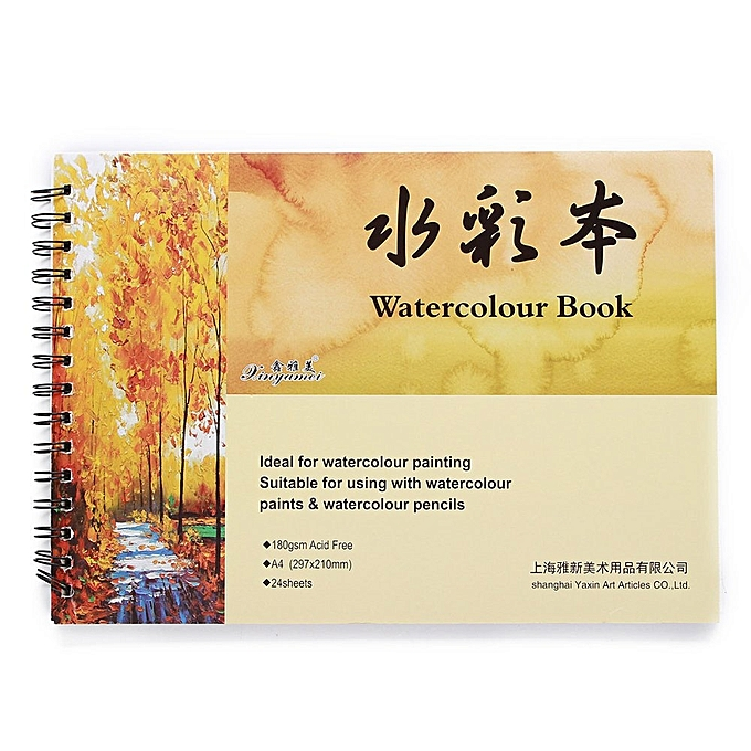 UNIVERSAL A4 Watercolour Book Art Artist Sketchbook Sketch Pad Journal Drawing Paint à prix pas cher