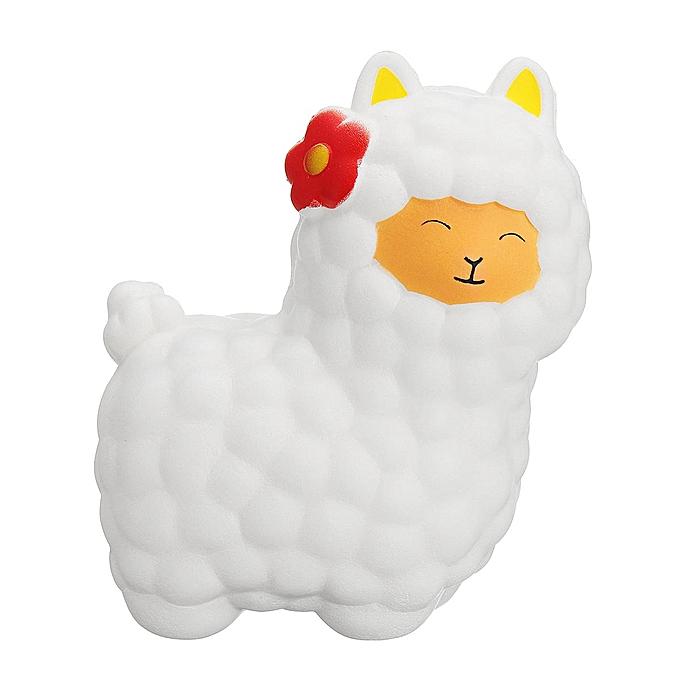 UNIVERSAL Hot Jumbo Sheep 17cm Squishy Alpaca Galaxy Super SFaible Rising Cream Scented Fun Toys[blanc] à prix pas cher