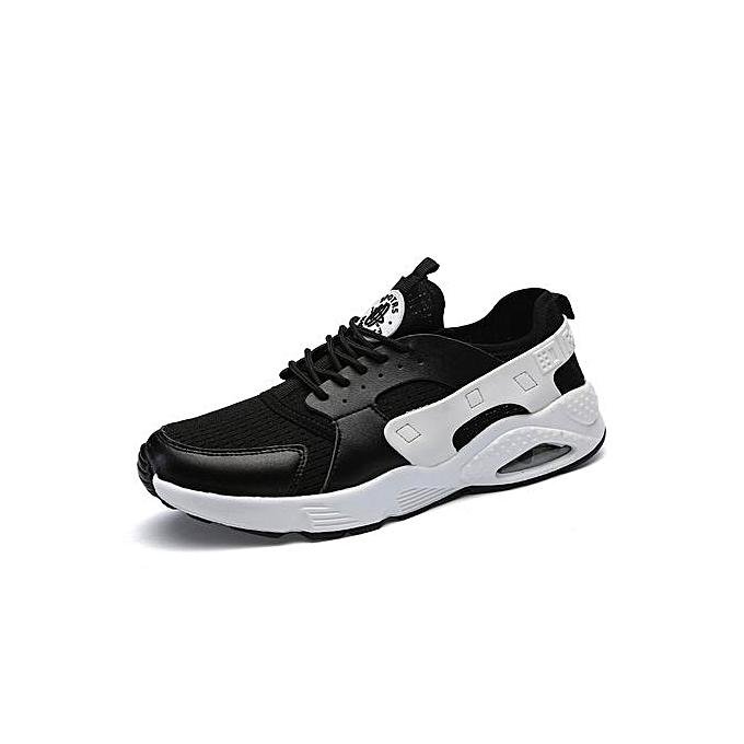 HT Pour des hommes paniers Air-cushion Sports chaussures mode FonctionneHommest chaussures-noir à prix pas cher