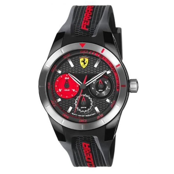 scuderia ferrari montre scuderia ferrari 0830254 noir acheter en ligne jumia maroc. Black Bedroom Furniture Sets. Home Design Ideas