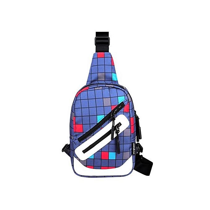 Generic mode Oxford Zipper Shoulder sacs Chest bandoulière sacs A à prix pas cher
