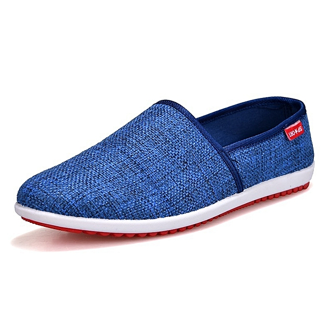 Other New Stylish Korean Men's Leisure Breathable Cloth chaussures à prix pas cher
