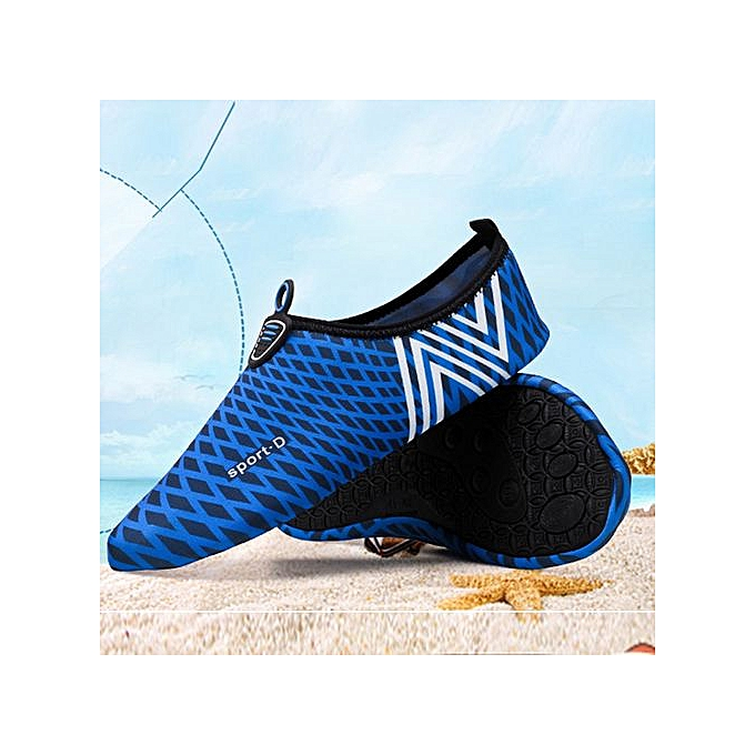Fashion Xiuxingzi_Men femmes Quick-Dry Water Aqua Socks Beach Surf Yoga Exercise chaussures DB 39 40 à prix pas cher    Jumia Maroc