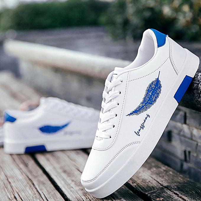 Fashion Breathable casual men fashion baskets-bleu à prix pas cher    Jumia Maroc