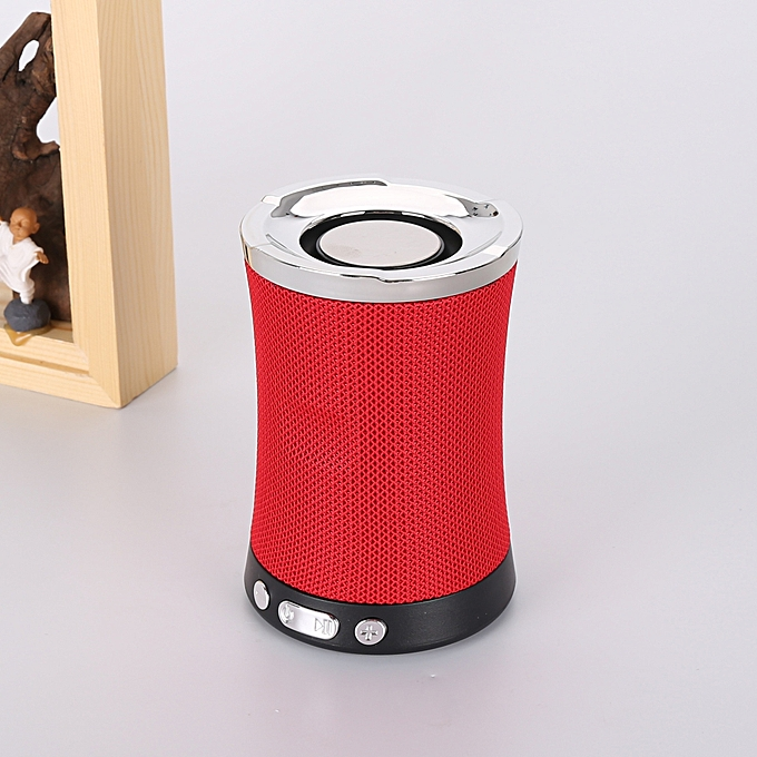 Other mode  Plug-in voitured Speaker Mobile Phone bleutooth Receiver-rouge à prix pas cher