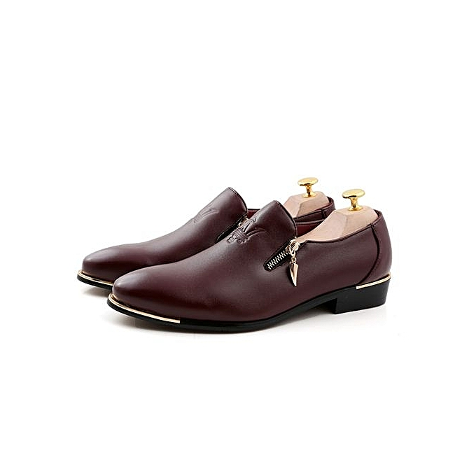 Zant Genuine Leather   Formal Sytle Shoes British Sytle Formal Loafers Slip-On à prix pas cher  | Jumia Maroc 27be4e