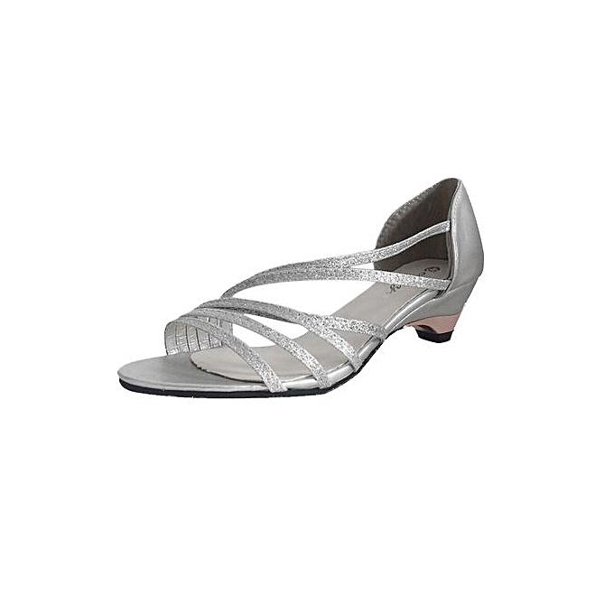 mode Xiuxingzi_mode Cutouts femmes Sandals Open Toe Faible Wedges été chaussures plage chaussures SL 39 à prix pas cher