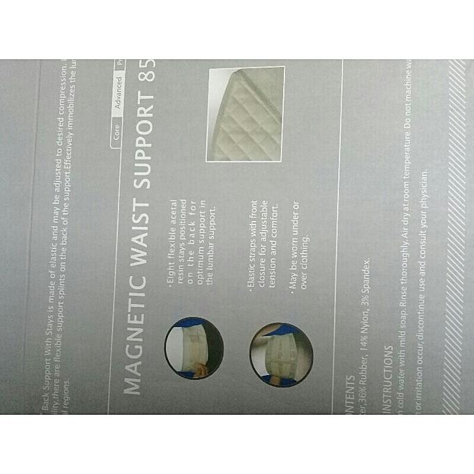 ... Èlastique ajusteur lombaire de taille ceinture magnétique magnetic  waist lombaire èquipement santè corps vie quotidienne 76be062fff6