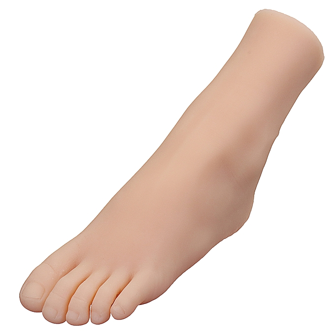 UNIVERSAL 29 Taille Lifelike Silicone Female Feet Model Mannequin Left Right chaussures Display à prix pas cher