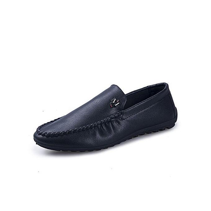 Fashion Leisure Mens Business Leather chaussures Non-slip Formal Leather chaussures noir à prix pas cher    Jumia Maroc