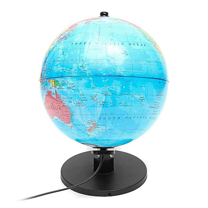 OEM Full inch diameter 25cm 220V European plug - in plastic with lamp PVC globe à prix pas cher