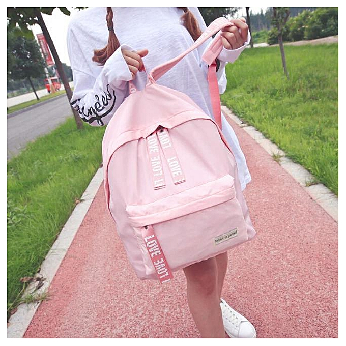 Generic Excellent Girls garçons Letter School sac voyage sac à dos Satchel femmes Shoulder sac à dos à prix pas cher