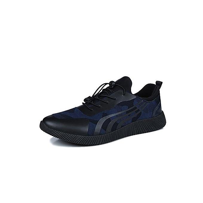 Fashion Running chaussures Men New Style Breathable Mesh baskets Men bleu Light Sport Outdoor chaussures à prix pas cher
