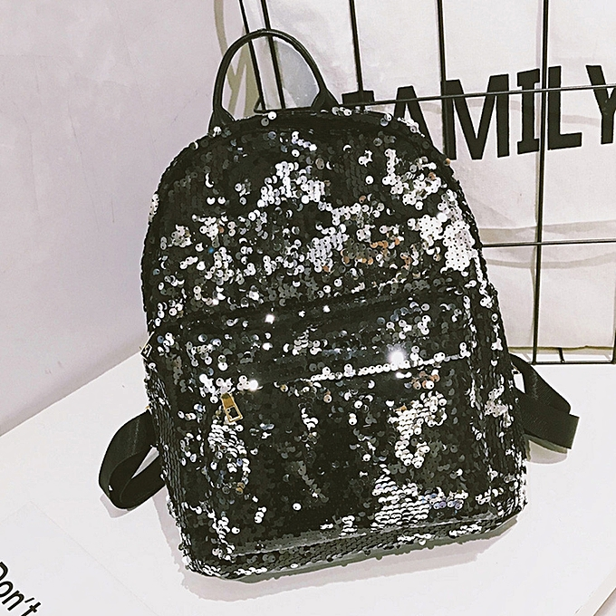 mode femmes mode School Style Sequins voyage Satchel School sac sac à dos sac à prix pas cher