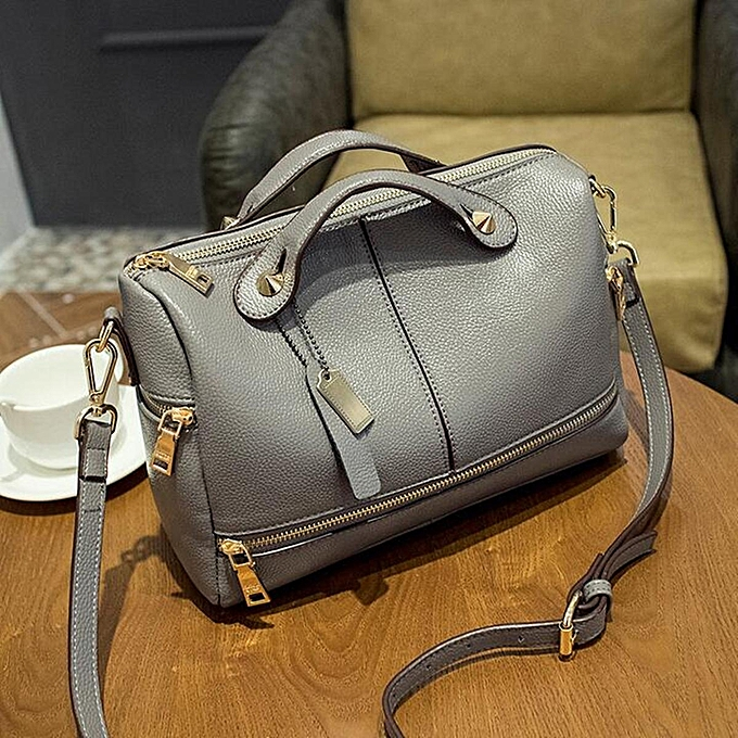Fashion Fashion femmes Lady Leather Tote Handbag Pillow Shoulder Crossbody Satchel Bag à prix pas cher
