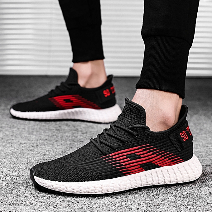 Fashion jiahsyc store Men's Fashion Breathable Non Slip Sport Athletic Walking Running chaussures baskets à prix pas cher