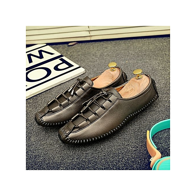 Zant Genuine Leather Loafers  's Casual Casual 's Business Moccasins Shoes à prix pas cher  | Jumia Maroc 77de52