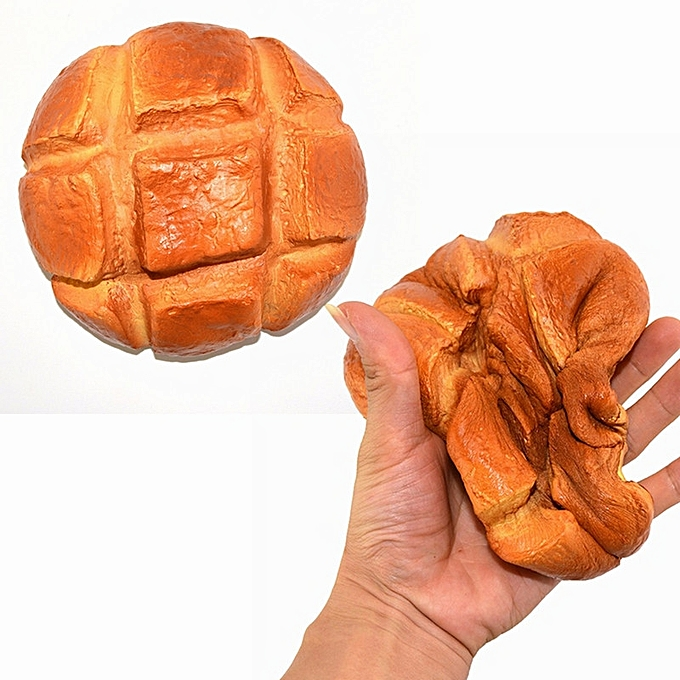 UNIVERSAL Squishy Pineapple Bread Bun Jumbo 17cm SFaible Rising Baker Collection Gift Decor Toy- à prix pas cher