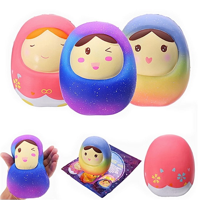 UNIVERSAL Vlampo Squishy Doll Jumbo Tumbler 13cm Licensed SFaible Rising  Packaging Collection Gift Decor-Starry sky à prix pas cher