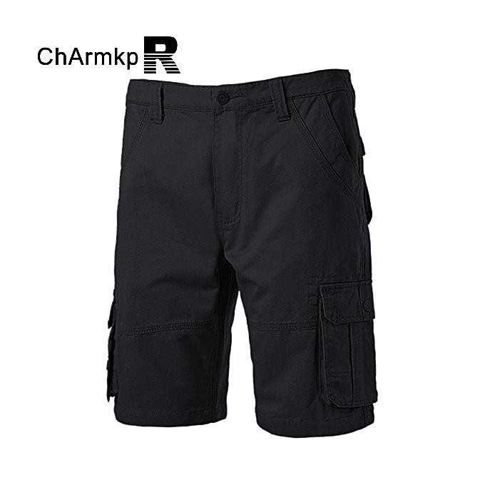 UNIVERSAL Charmkpr mens summer solid Couleur cargo shorts à prix pas cher