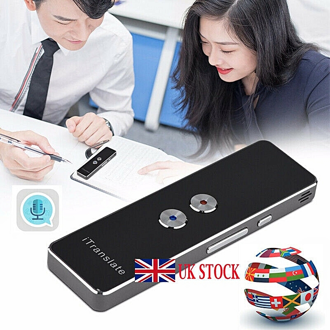Other Mini Portable Support 40 languages translation Multi-Language Voice Translator  Smart Two-Way Real Time QLANG à prix pas cher