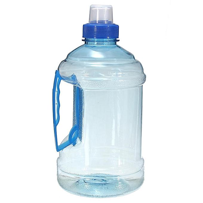 UNIVERSAL 5PCS 2L Outdoor Sports Big Drink Large Water Bottle Kettle BPA Free Picnic Party bleu à prix pas cher