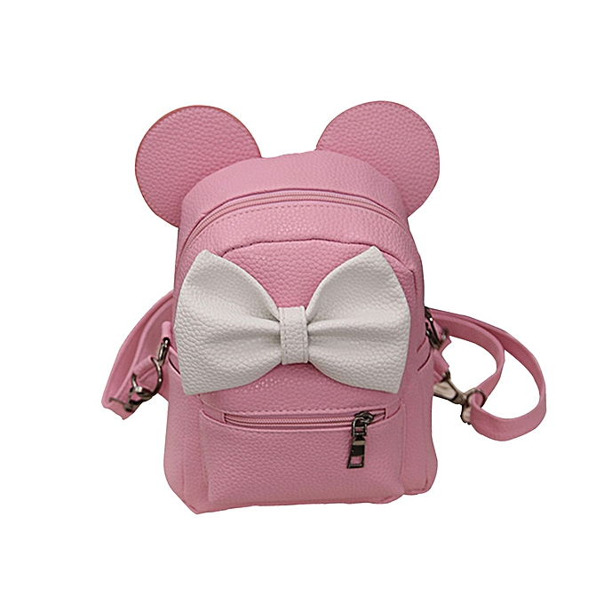 mode whiskyky store 2017 nouveau Mickey sac à dos Female Mini sac Wohommes sac à dos -rose à prix pas cher