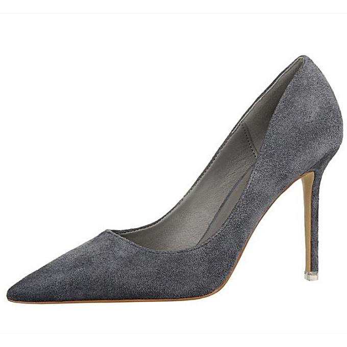 Fashion Chaussures daim à talons hauts en daim Chaussures à la mode  et  pour femmes minces à prix pas cher  | Black Friday 2018 | Jumia Maroc 39b8de